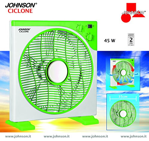 JOHNSON 800852300709 Ventilatore CICLONE, Plastica