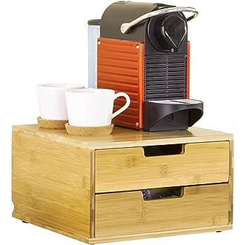 BAKAJI - Soporte para cápsulas Nespresso: Amazon.es: Hogar