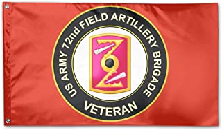 DGGE U.S. Army 72nd Field Artillery Brigade Veteran Flag 3-Foot by 5-Foot