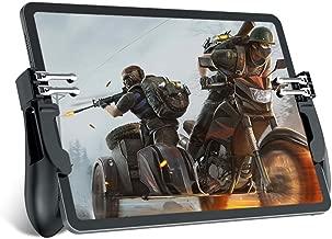 Mobile Game Controller for iPad/Tablets, EMISH Six Finger Game Joystick Handle Trigger..
