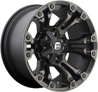 Fuel D569 Vapor 20x9 6x135/6x139.7 +1mm Black/Machined Wheel Rim