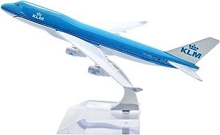TANG DYNASTY 1/400 16cm KLMオランダ航空 KLM Royal Dutch Airlines ボーイング B747 高品質合金飛行機プレーン模型 おもちゃ