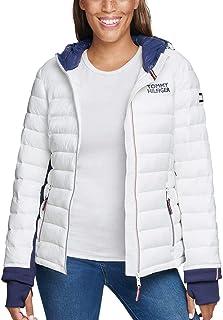 Womens Packable Hooded Puffer Jacket
