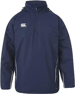 Canterbury Team Fleece Lined Jacket Senior, Navy/White