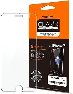 Spigen, Vetro Temperato iPhone 8 / iPhone 7, Glas.TR, 9H Durezza, Custodia Compatibile, Anti-Graffio, Anti-Impronta, Pelli...