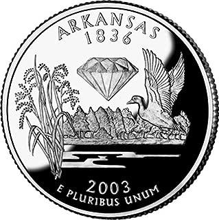 2003 Arkansas - D State Quarter Roll
