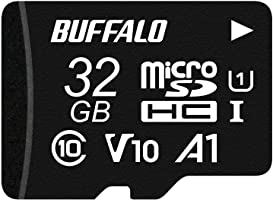 缓冲 microSD 32GB 100MB/s UHS-1 U1 【适用于Nintendo Switch/行车记录仪 】V10 A1 IPX7 Full HD 支持复旧服务 RMSD-032U11HA/N
