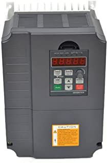 CNC 7.5kw 7500w 220v 10HP 34a 10hp Variable Frequency Drive Inverter VFD for Spindle Motor Speed Control