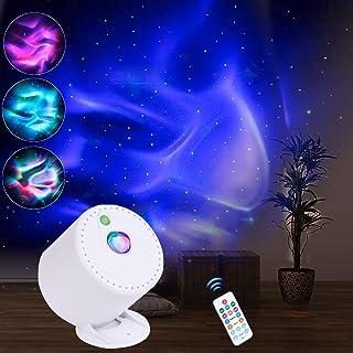 MHAZDZE LED-stjärnhimmel projektor, justerbar hastighet och ljusstyrka nattlampor-projektor, galaxaxy-projektor med fjärrk...
