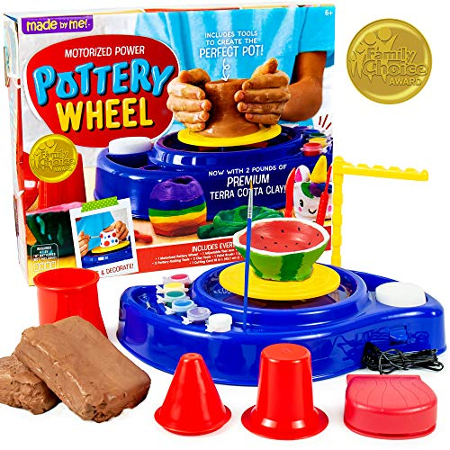 Product Image of the Made By Me Motorized Power Pottery Wheel By Horizon Group USA, Discover The Art...