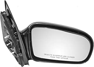 Aftermarket Replacement Passengers Manual Side View Mirror Compatible with 95-05 Cavalier Sunfire Sedan 22728849