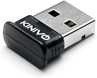 Kinivo BTD-400 USB Bluetooth Adapter for PC (Bluetooth 4.0, Low Energy, Compatible with Windows, Raspberry Pi, Linux)