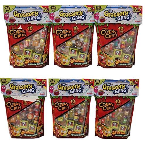 GROSSERY Gang Set Corny Chips RADOM 3 Pack (NO DUPLICATES)
