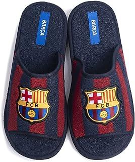 FC Barcelona - Scarpe da ginnastica in spugna, bicolore aperte, da uomo, invernale, autunno, 41 EU