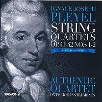 Pleyel: String Quartets Nos 1