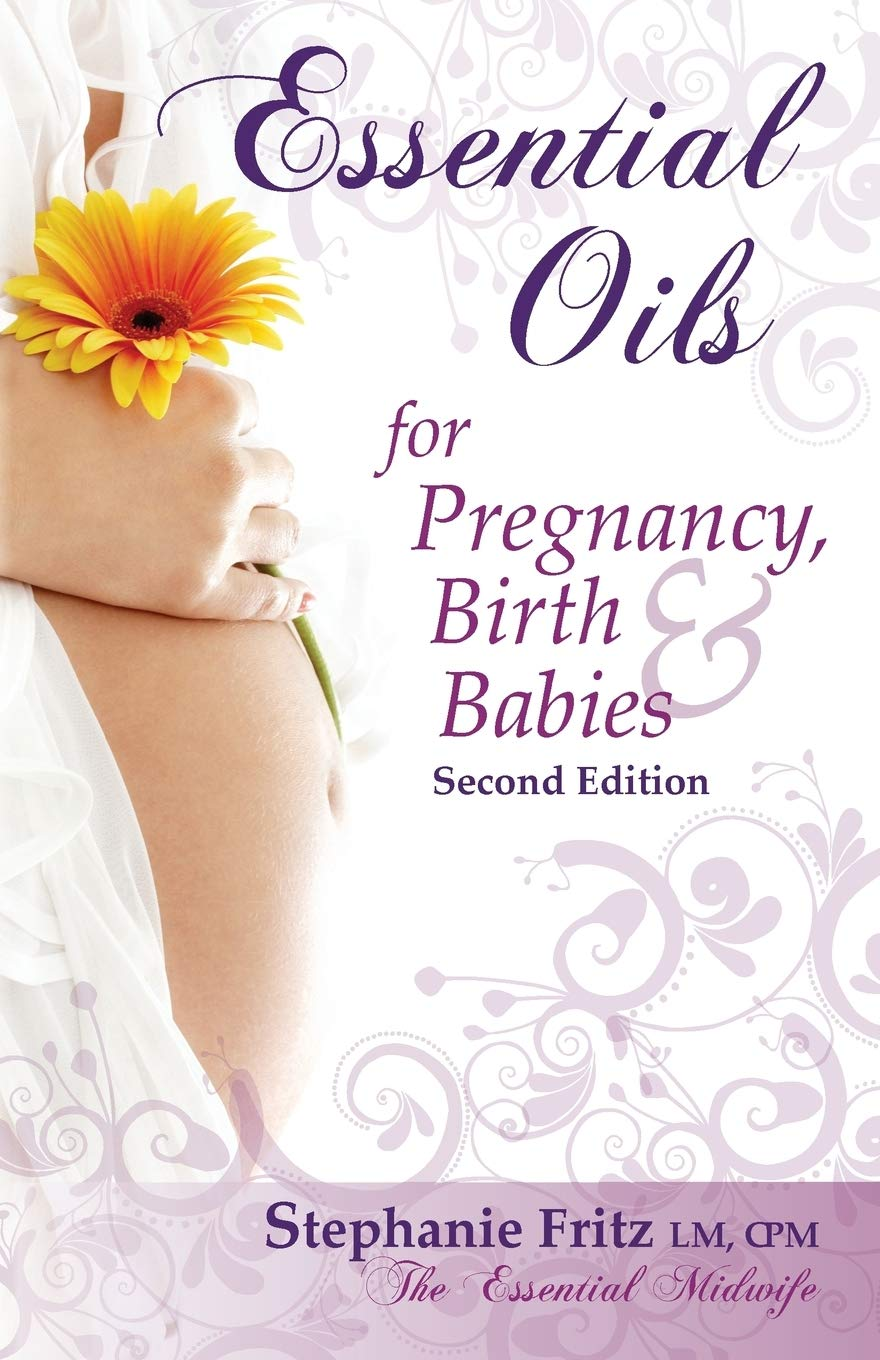 Image OfEssential Oils For Pregnancy, Birth & Babies