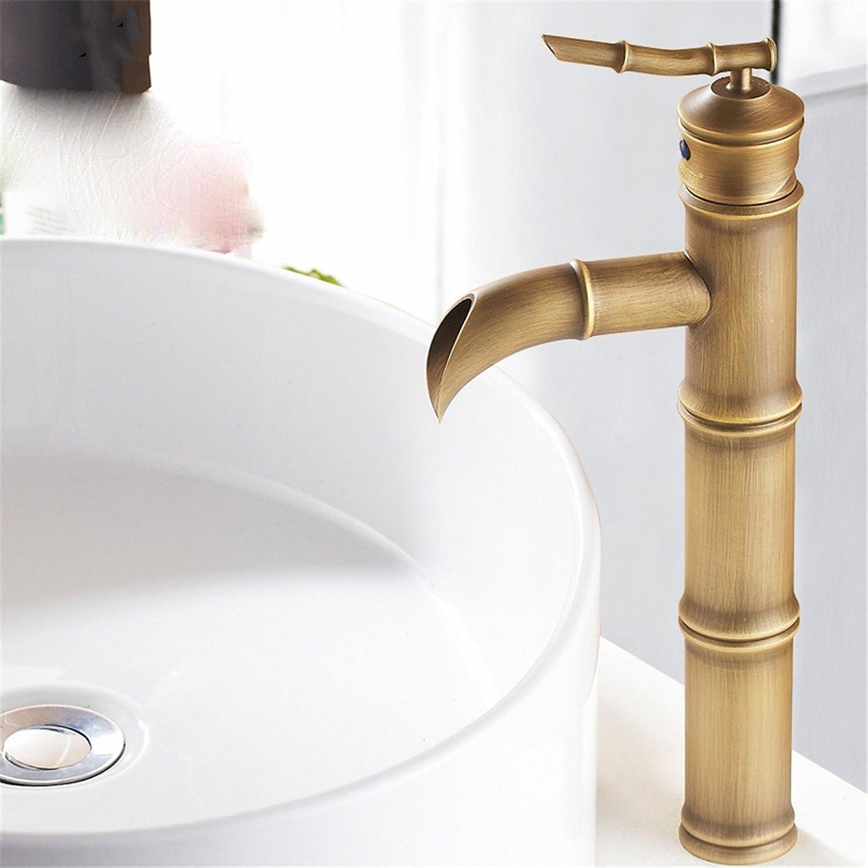 ETERNAL QUALITY Bad Waschbecken Wasserhahn Küche Waschbecken Wasserhahn Kupfer-Einloch-Waschtischmischer Warm Und Kalt über Dem Aufsatz Waschtischmischer BEG2205