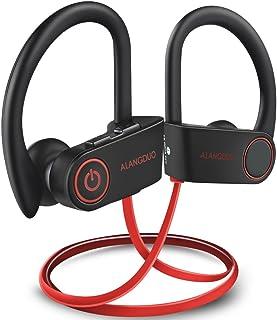 Bluetooth Headphones Wireless Sports Running Earphones, IPX7 Waterproof Sweatproof HD Stereo in Ear Earbuds Noise Cancelli...