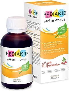 PEDIAKID - Complément Alimentaire Naturel Pediakid Appétit-Tonus - Formule Exclusive au Sirop d'Agave - Stimule l'Appétit...