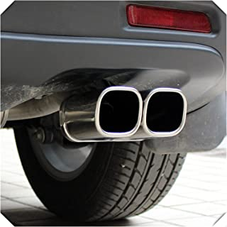 Just like Fit for Suzuki SX4 S-Cross 2014-2020 Car Auto Accessories Decoration Steel Chrome Rear Exhaust Muffler End Pipe ...