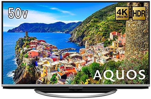 シャープ 50V型 4K対応 液晶 テレビ AQUOS LC-50US45 HDR対応 低反射「N-Blackパネル」搭載