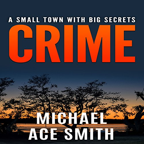 Crime audiobook cover art