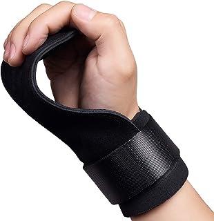 inkfish パワーグリップ トレーニンググリップ 握力をサポート 握力補助・滑り止め2倍アップ 手首ガード 懸垂強度600kg 筋肉を追い込む リストラップ 男女兼用 左右セット