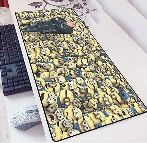 Extended Gaming Mouse Pad película Minions teclado de gran tamaño alfombrillas de ratones Juego Mousepad for Ministerio del Interior impermeable antideslizante de la PC de escritorio Tabla alfombrilla