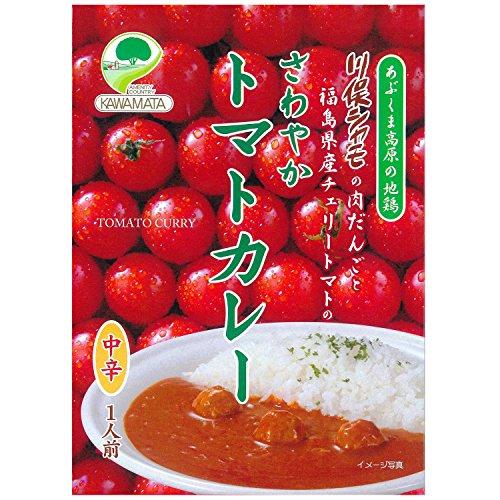 川俣シャモ さわやかトマトカレー 200g