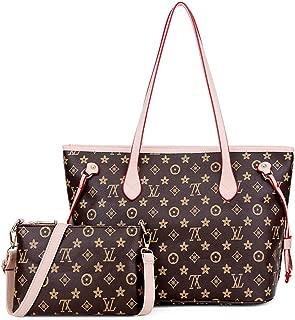 Montmo Handbags Set Shoulder Bag Ladies Designer Satchel Tote Top Handle Work Bag Shouler Totes Bags