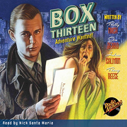 Box Thirteen - Adventure Wanted! audiobook cover art