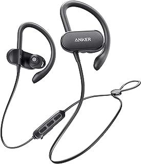 【改善版】Anker SoundBuds Curve(カナル型 スポーツ用 ワイヤレスイヤホン)【Bluetooth 5.0 / 最大18時間連続再生 / IPX7防水規格 / AAC対応/マイク内蔵】iPhone、Android各種対応