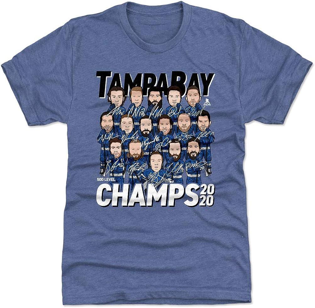 500 LEVEL Tampa Bay Hockey 2020 Champs T-Shirt