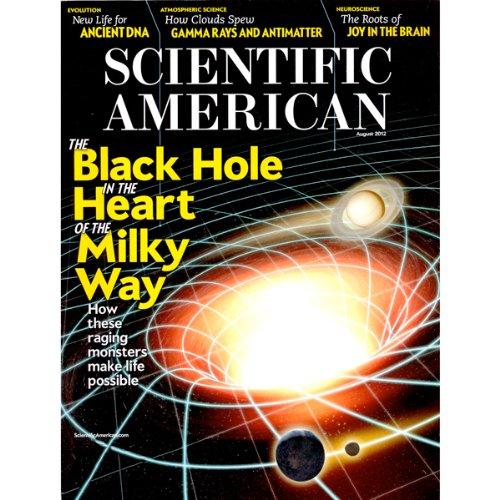 Scientific American, August 2012 (English) Titelbild