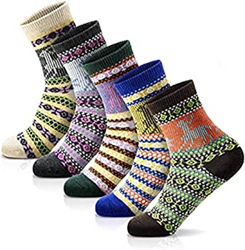 Morecoo Women's Warm Winter Socks