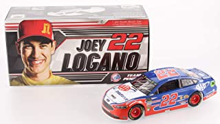 Authentic Joey Logano Autographed Signed NASCAR #22 AAA Insurance 2018 Fusion 1:24 Limited Edition Premium Action Diecast Car (PA COA)