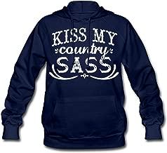 Kiss My Country Sass Women's Hoodie