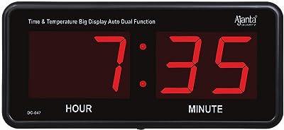 Ajanta Quartz Digital Wall Clock (18.x8.6x2.7 Inch)(Large Size)(047)