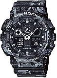 [カシオ] 腕時計 ジーショック MARCELO BURLONタイアップモデル GA-100MRB-1AJR ブラック