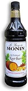 Monin Old Fashioned Root Beer Syrup PET