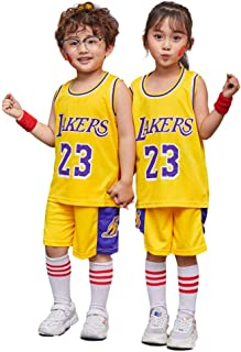 Auyz Basketball Jersey for Boy Kids Sports Basketball kit Uniforms Set for Youth Boys and Girls