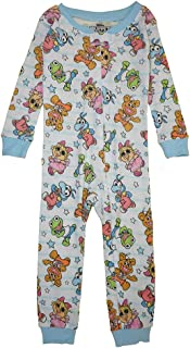 Girl's Infant & Toddler Cotton Non-Footed Pajama