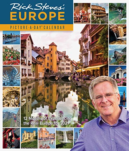 Rick Steves' Europe Picture-A-Day Wall Calendar 2021