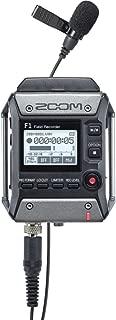 ZOOM ズーム モノラル/ステレオ録音 軽量コンパクト フィールドレコーダー・ラベリアマイクセット F1-LP