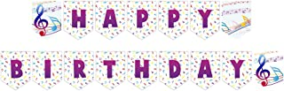 Music Party Jointed Banners, Music Party Supplies, Music Party Birthday Banner
