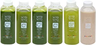 WYSIWYG Cold Pressed Green Cleanse Package 16 oz Bottles (1 DAY)