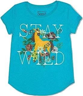 Spirit Girls Riding Free Stay Wild Horse T-Shirt