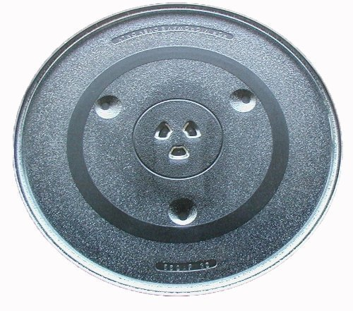 Glass Tray Turntable Plate 12 3/8 inch (315mm) P34 Compatible with Emerson & Sanyo Microwave by What