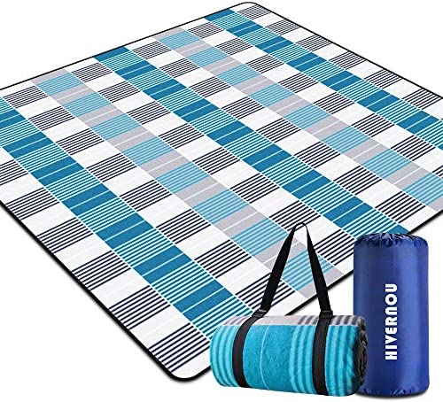 Hivernou Outdoor Picnic Blanket Waterproof Extra Large Picnic Mat with 3 Layers Material Portable product image