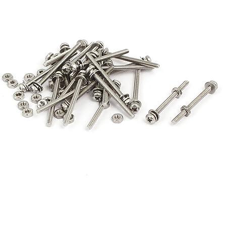 Black 10.9 Steel M2 x 5mm Phillips Pan Head Screws